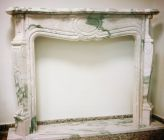 Portuguese Pink Marble Fireplaces